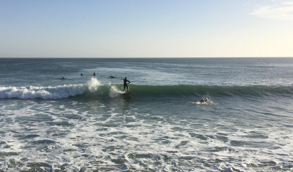 Surfers at Secret Spot