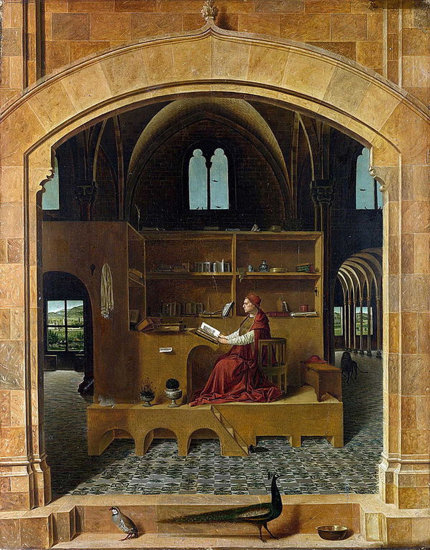 St. Jerome in his Study (1474-75) – Antonello da Messina