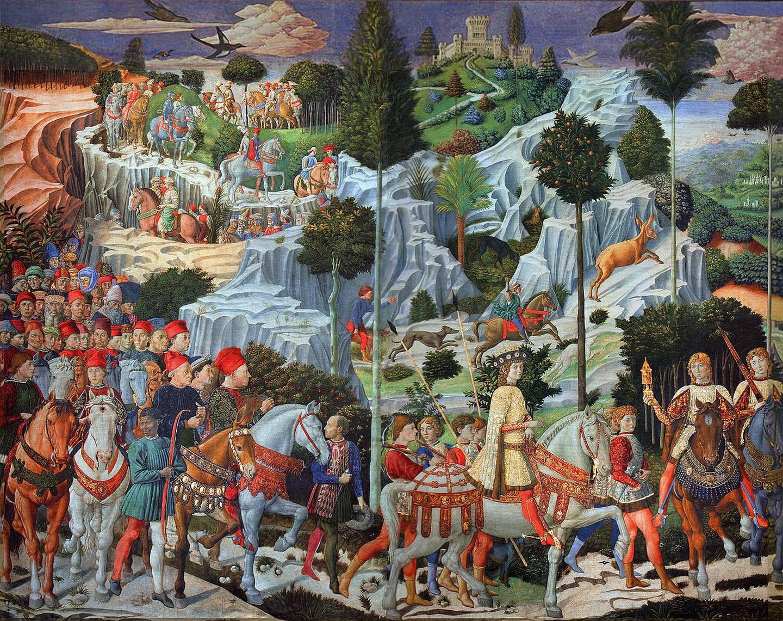 Procession of the Magi (1459-61) – Benozzo Gozzoli
