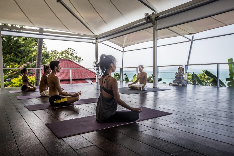 Retiro de yoga Vikasa