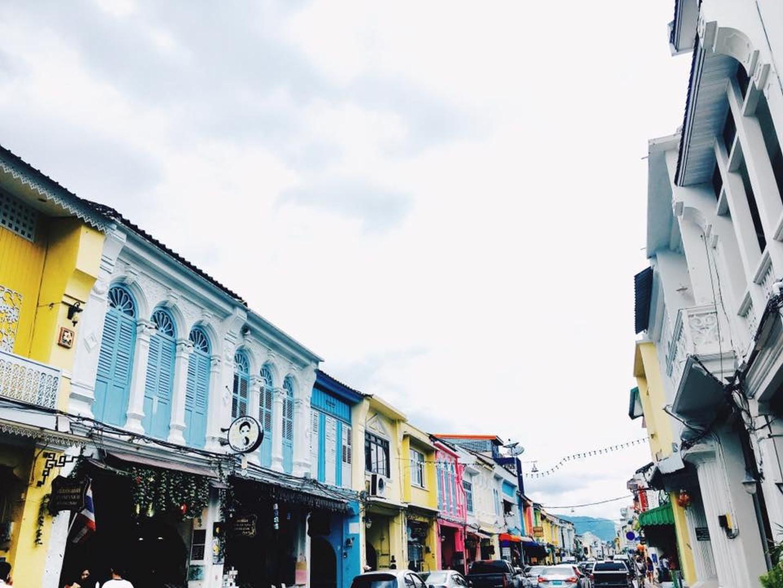 Calle peatonal de Phuket