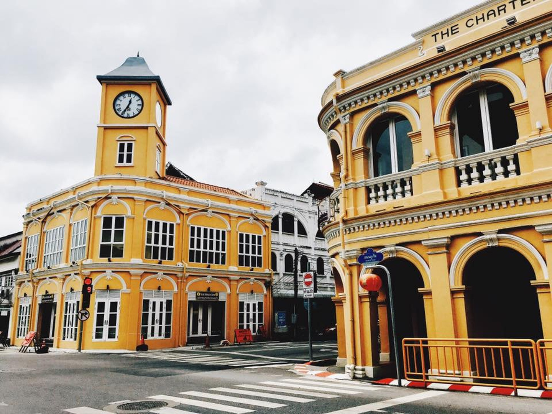 Edificios de estilo colonial de Phuket Town Kyle Hulme