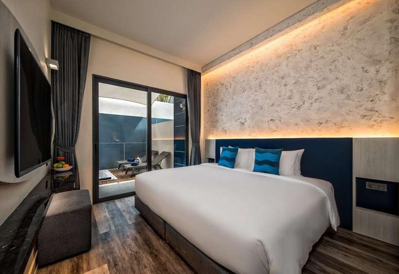 Habitación de huéspedes en el Hotel Clover Patong Phuket