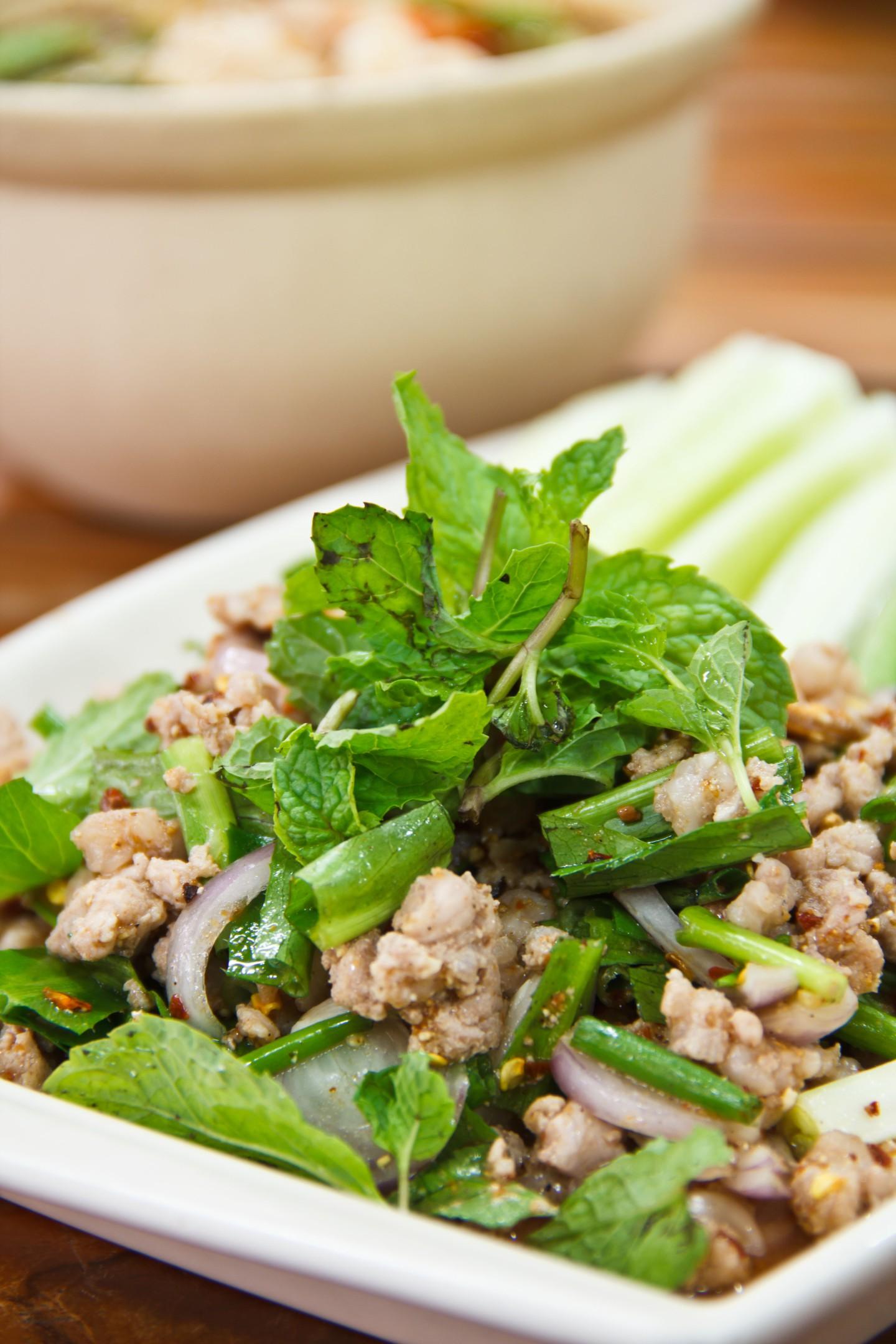 Esta comida es popular en el noreste del país Isaan