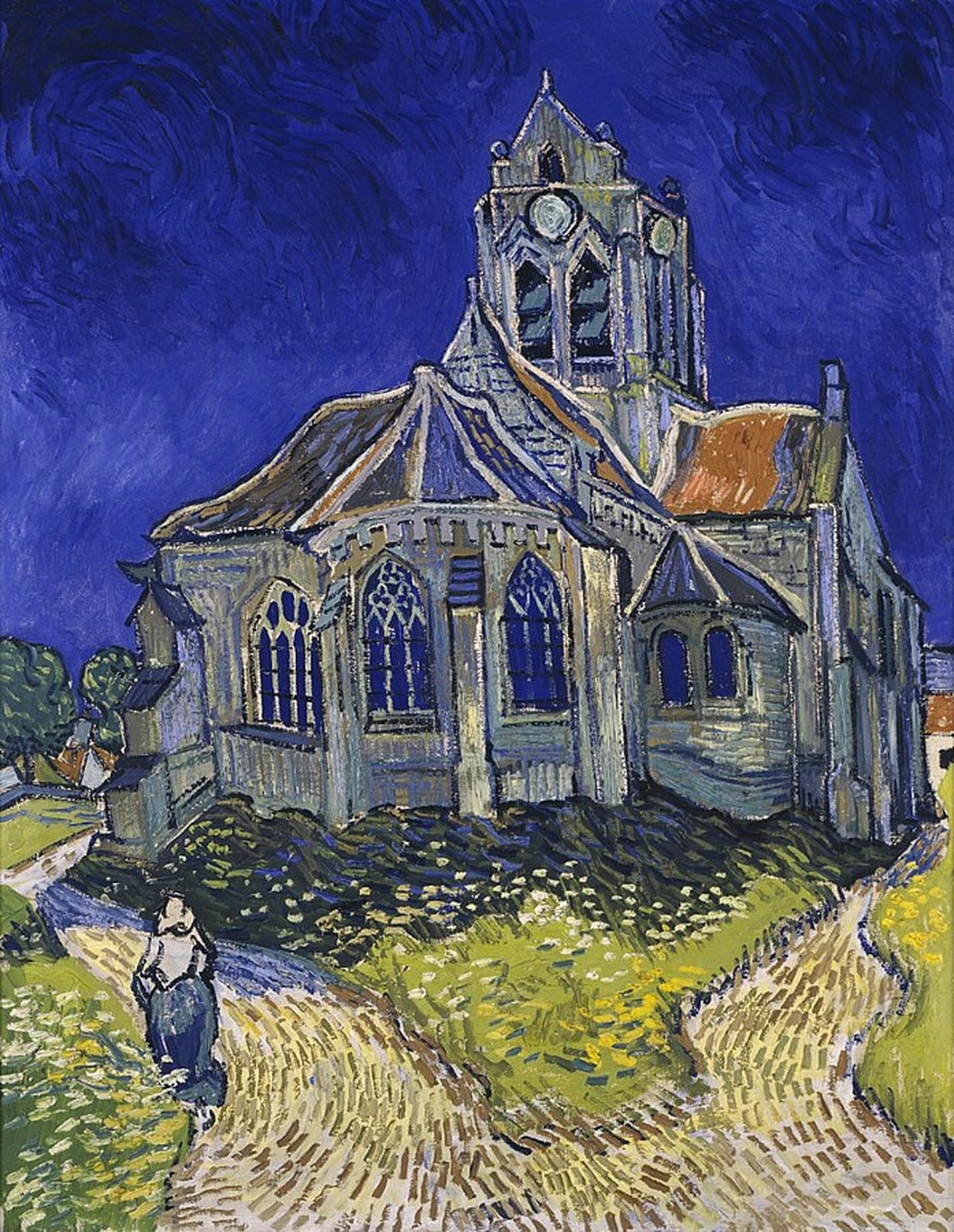 Vincent Van Gogh, 'The Church at Auvers', 1890