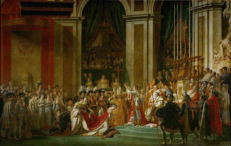 Jacques-Louis David, 'The Coronation of Napoleon', 1805-1807