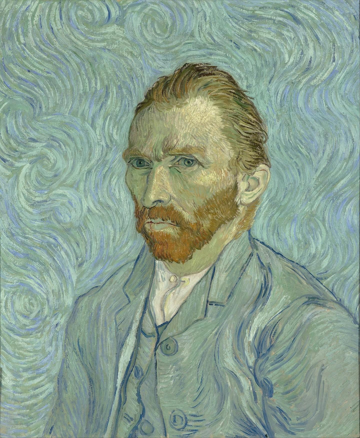 Vincent Van Gogh 'Self Portrait', 1889