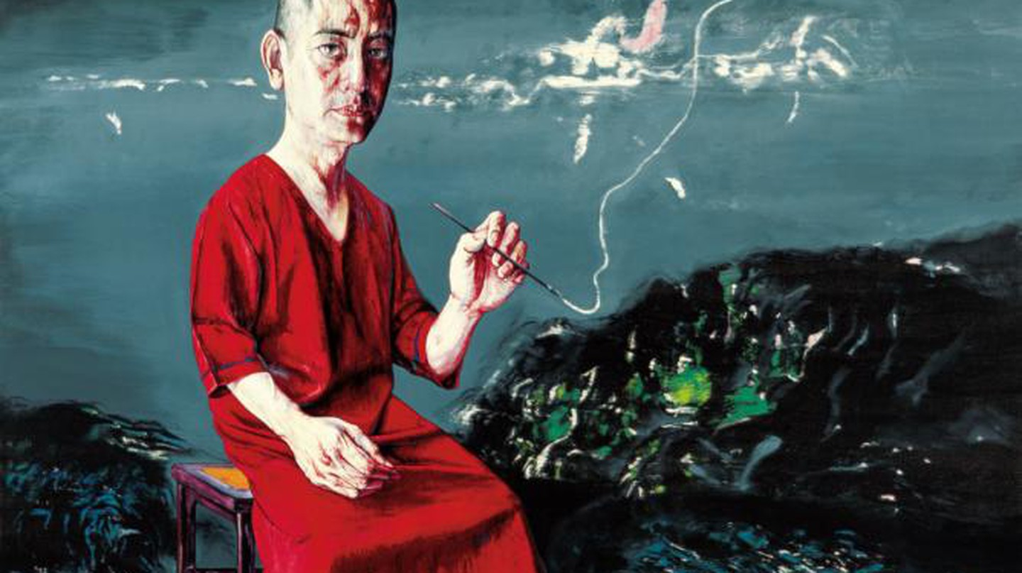 Zeng Fanzhi: China Masked