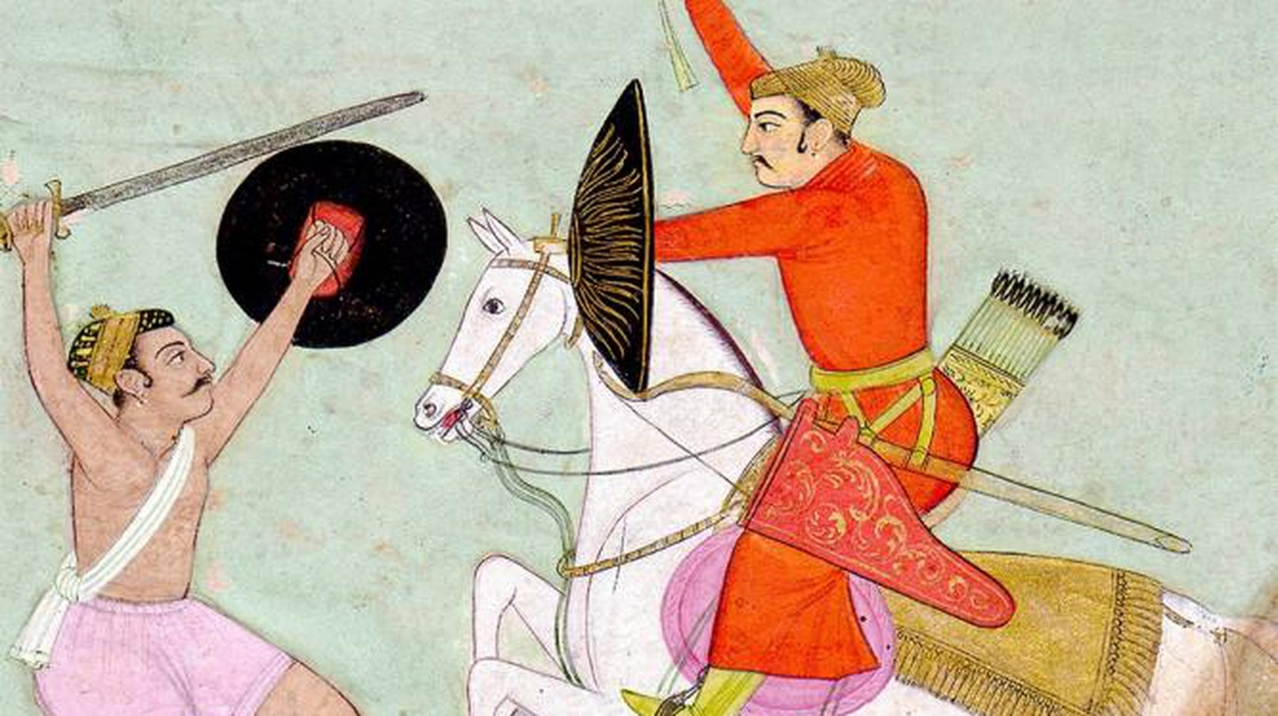 Nat Ragini And The Ragamala Paintings Of Mughal India