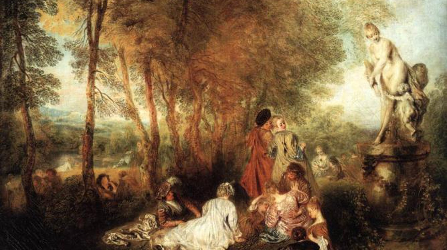 Antoine Watteau And The Theatrics Of Love