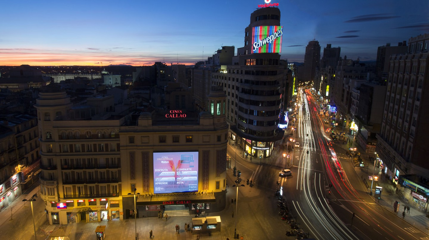 Plaza del Callao in Madrid | ©Enrique Gómez/Flickr