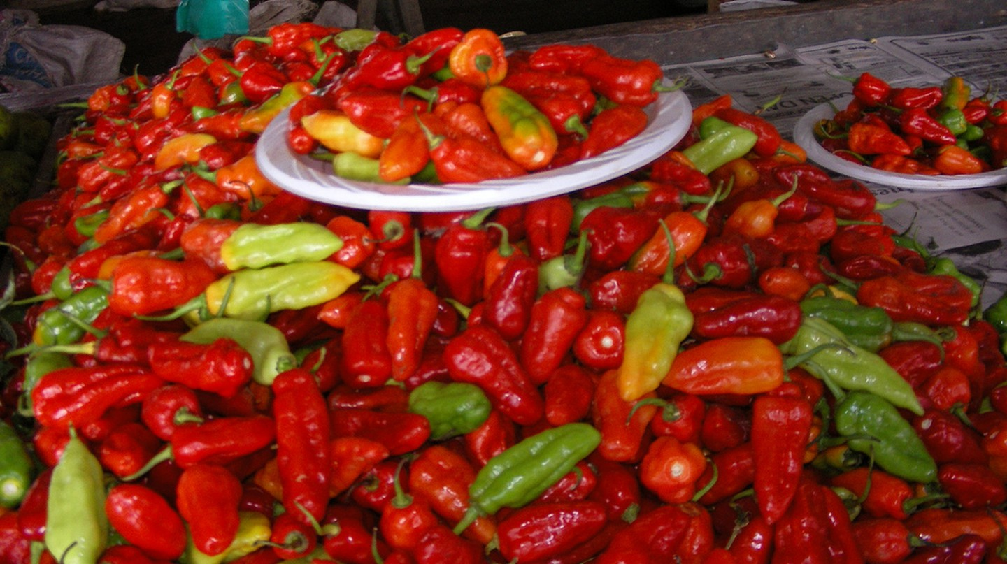 Chillis in Fiji | © Yuko Hara/Flickr