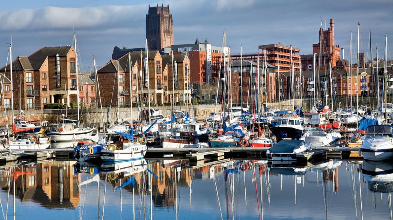 Coburg Dock at Liverpool Waterrfont