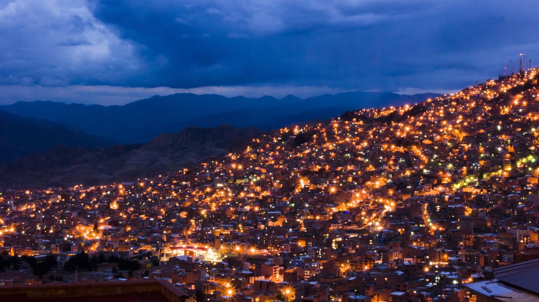 La Paz at Night   ©Gary A. Valenzuela/Flickr