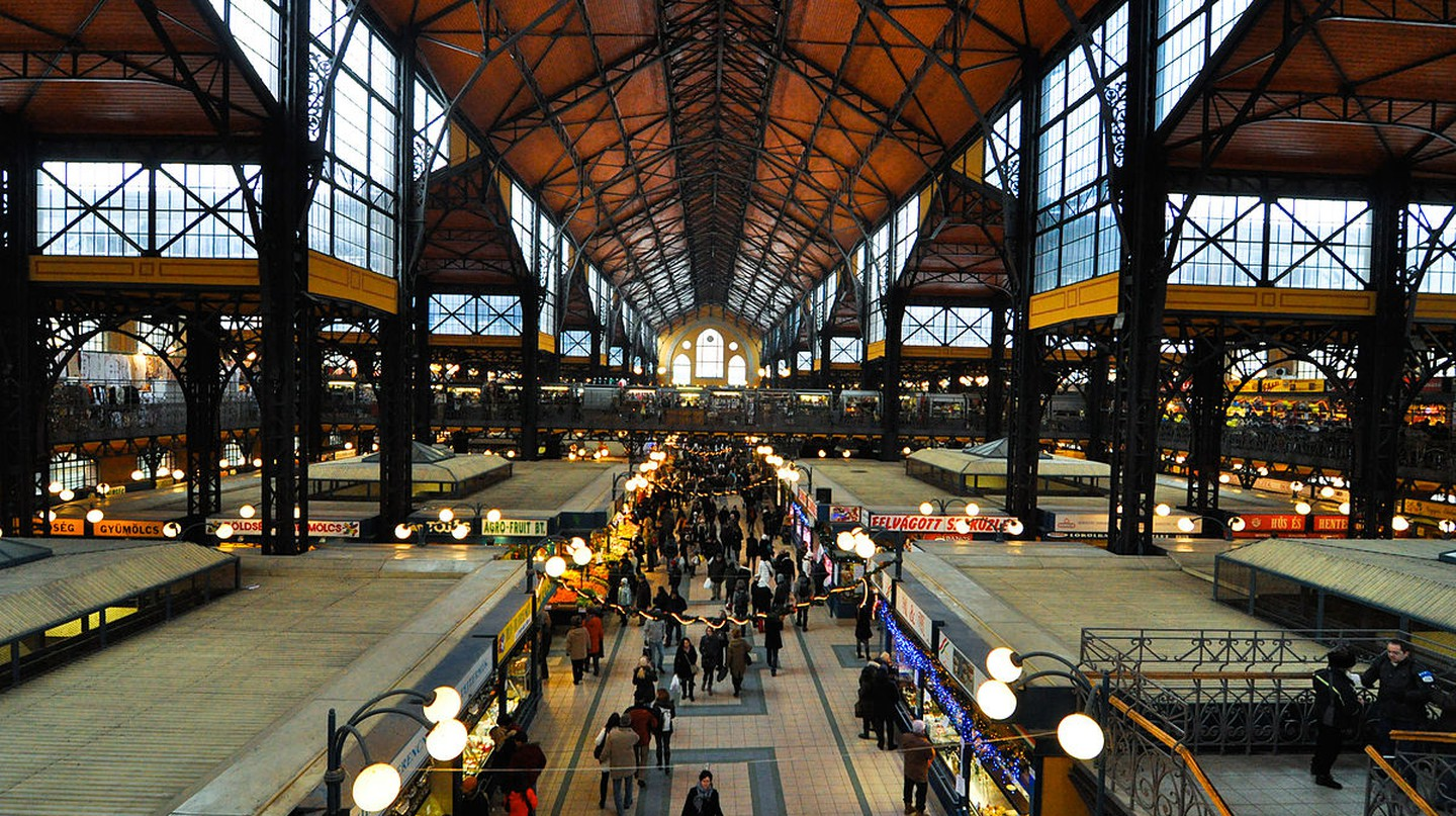 Budapest Grand Market Hall © dd-ang2s/WikiCommons
