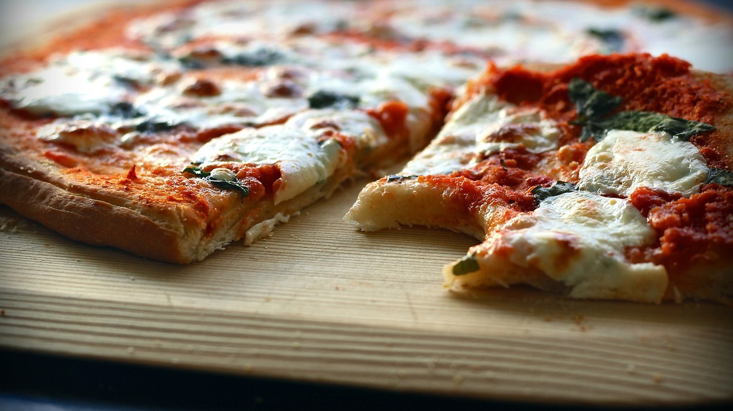 The venue's menu features delicious traditional Italian food from pizza and pasta to meat and fish dishes