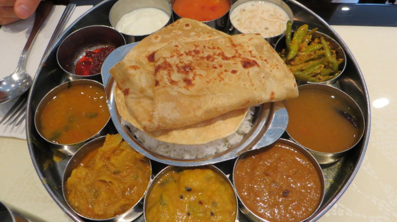 Indian food from Saravana Bhavan, New York |©taylorandayumi/Flickr