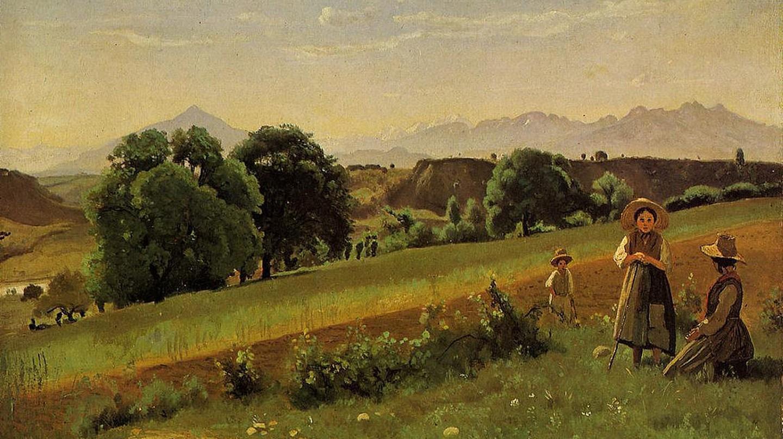 Corot Landscape ©Art Gallery ErgsArt