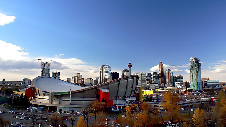 Calgary Alberta ©Bernard Spragg. NZ