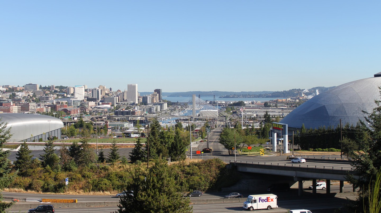 Tacoma skyline from McKinley Way | SounderBruce/Flickr