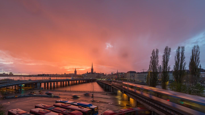 Stockholm sunset | © Arild/Flickr