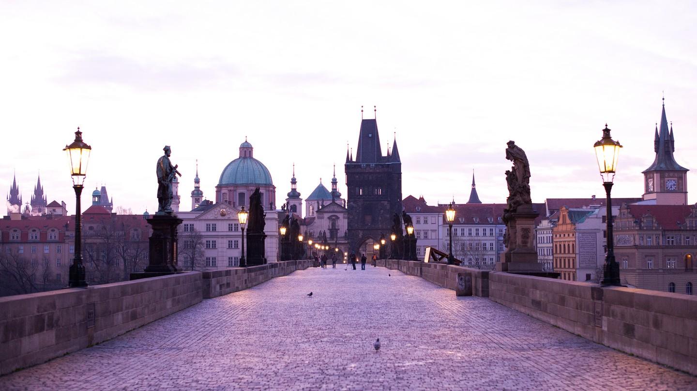 Prague Sunrise | © Roman Boed/Flickr