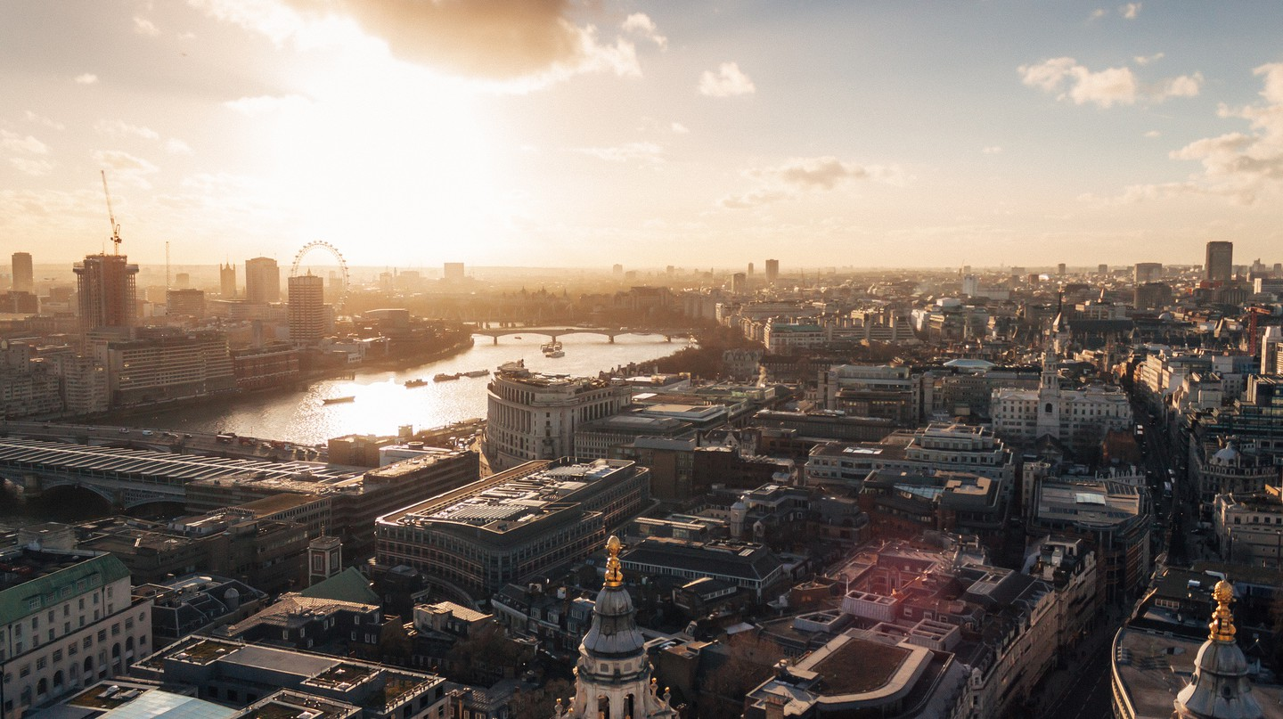 London from the dome of Saint Paul's Cathedral © Gabriel Calderón