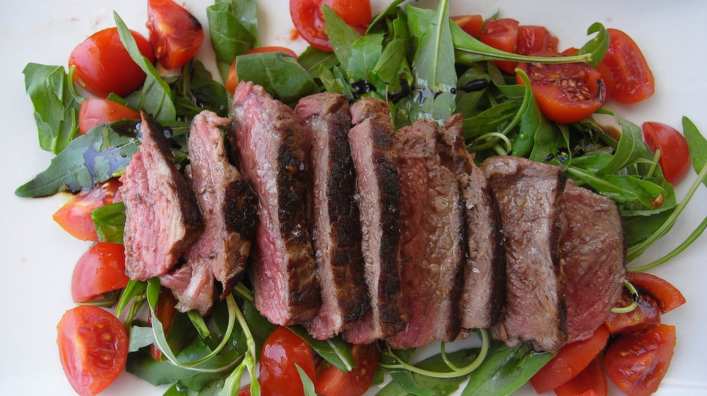 Steak Salad ©momo