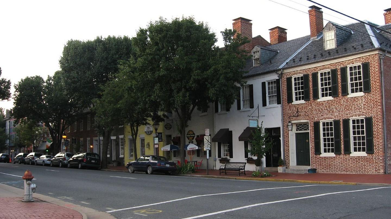 Historic Fredericksburg, Virginia © Ken Lund