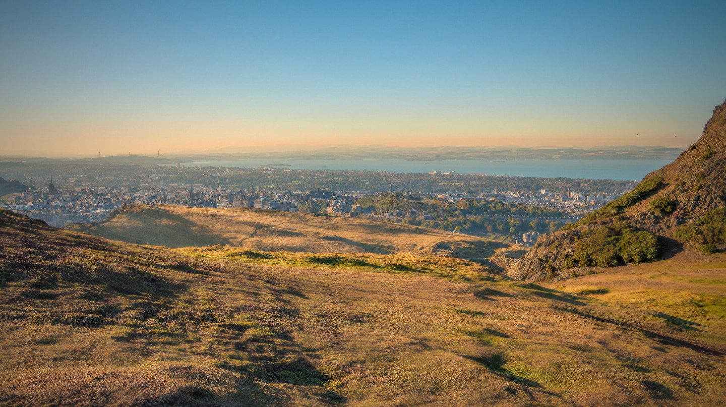 The view from Arthur's Seat   © Walkerssk/pixabay
