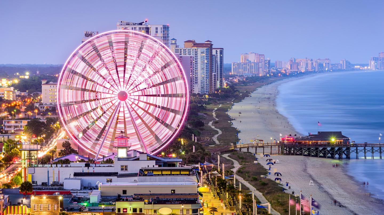 Myrtle Beach, South Carolina   © Sean Pavone/Shutterstock