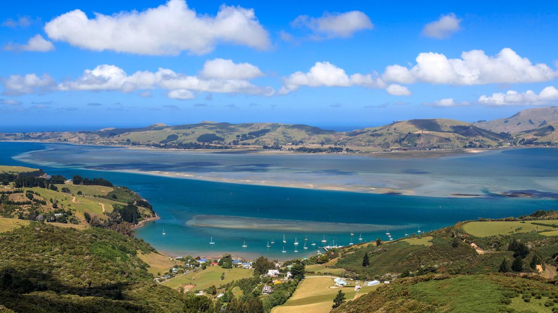 Otago peninsula, Dunedin, New Zealand | © loneroc/Shutterstock