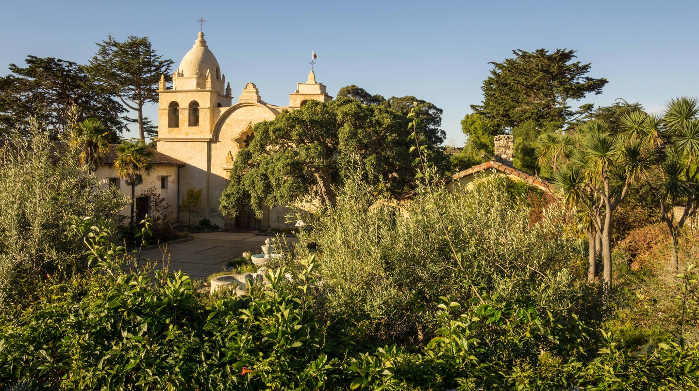 The Mission San Carlos Borromeo de Carmelo, Carmel, California