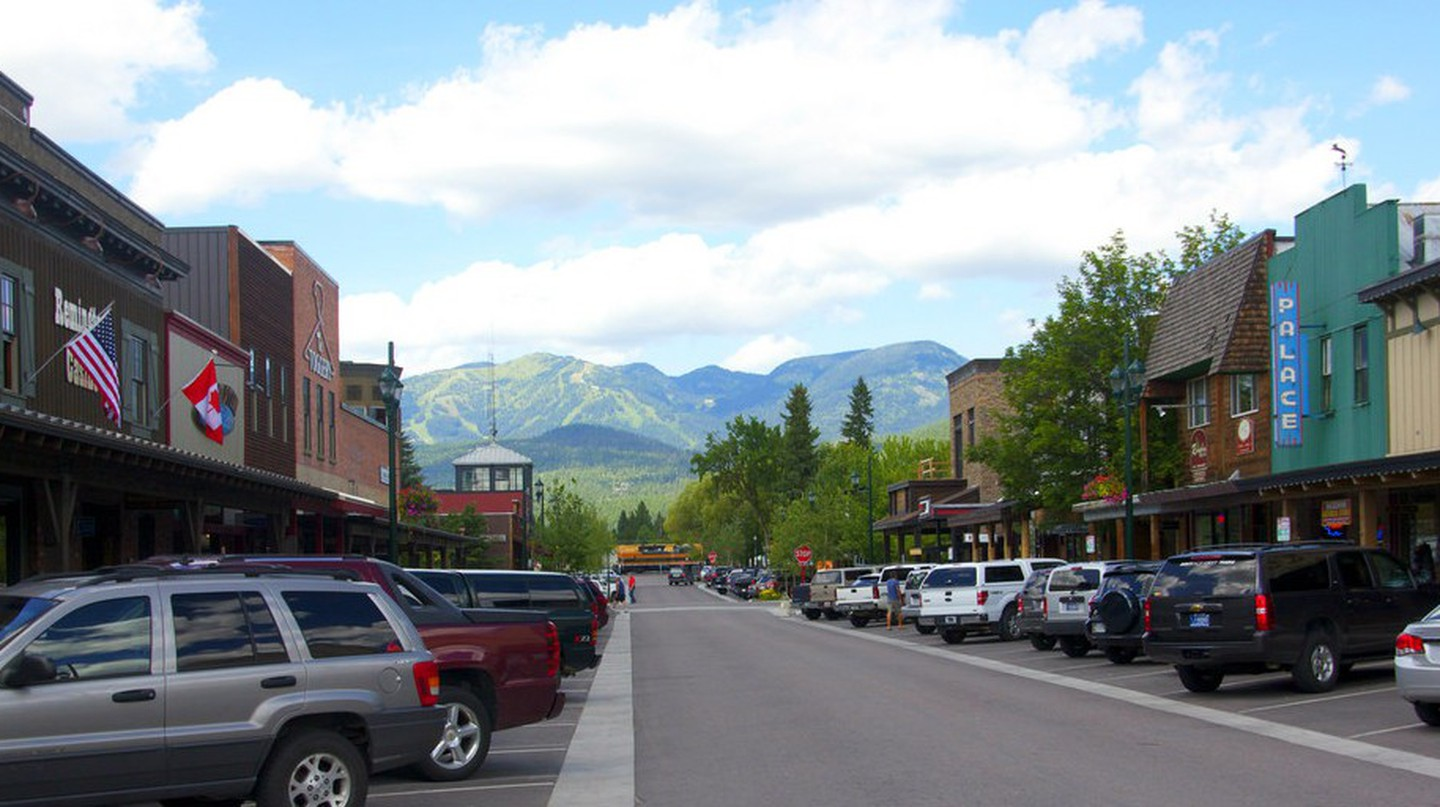Downtown Whitefish, Montana © Kris McGuire/Flickr