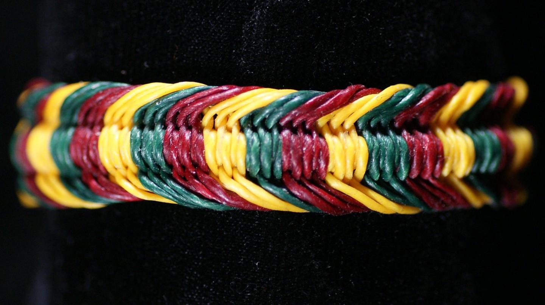 Reggae bracelet © greentarade/Flickr