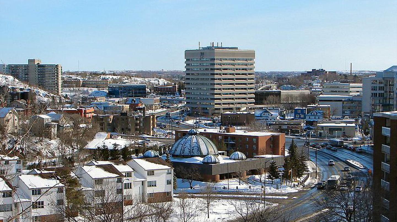 View of Sudbury. Ontario  © Wikimedia Commons