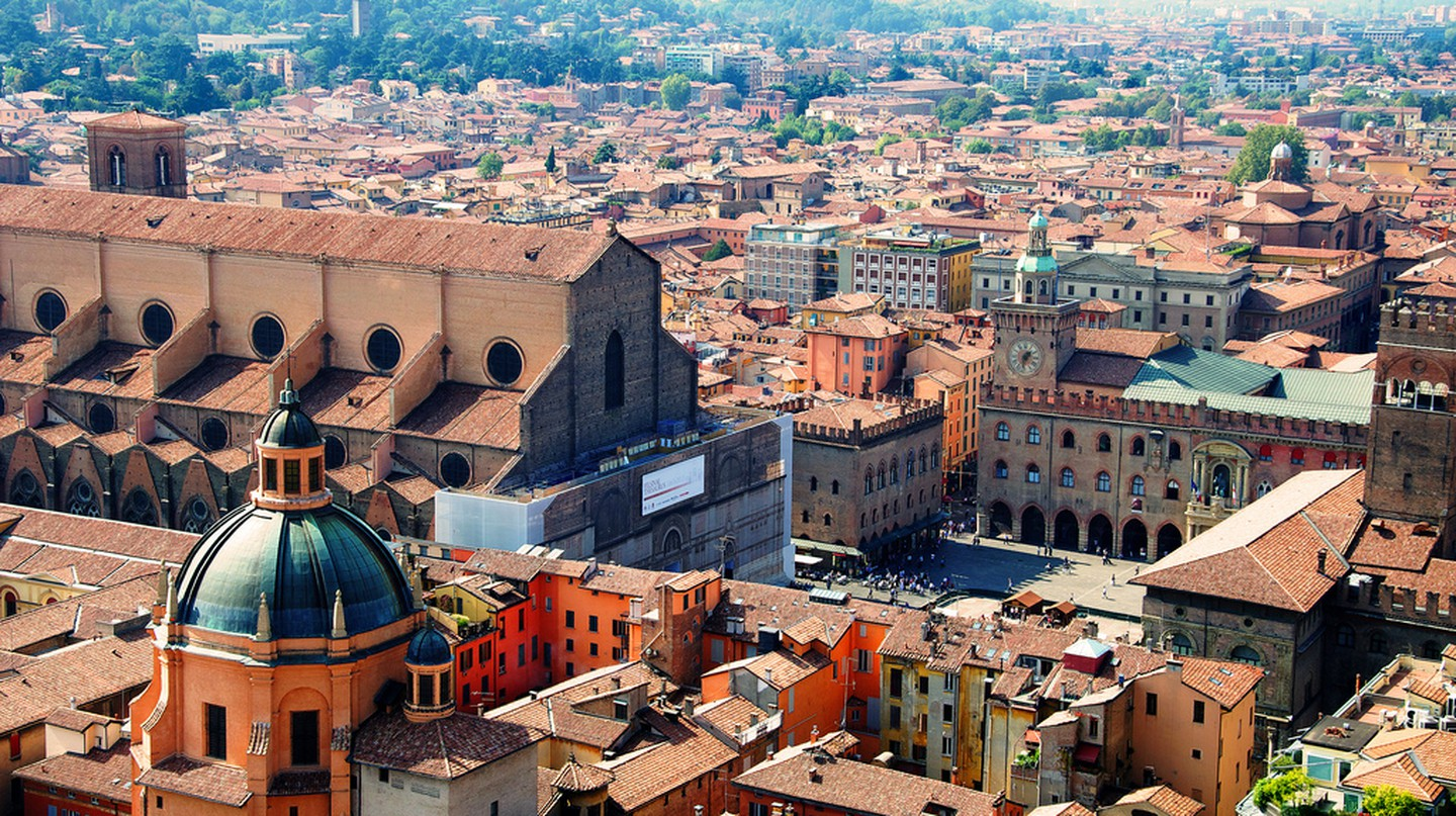 Bologna is the capital of the Emilia-Romagna region in Northern Italy