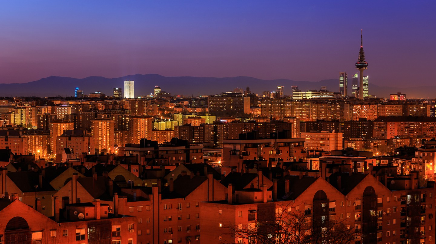 Madrid skyline | © Barcex