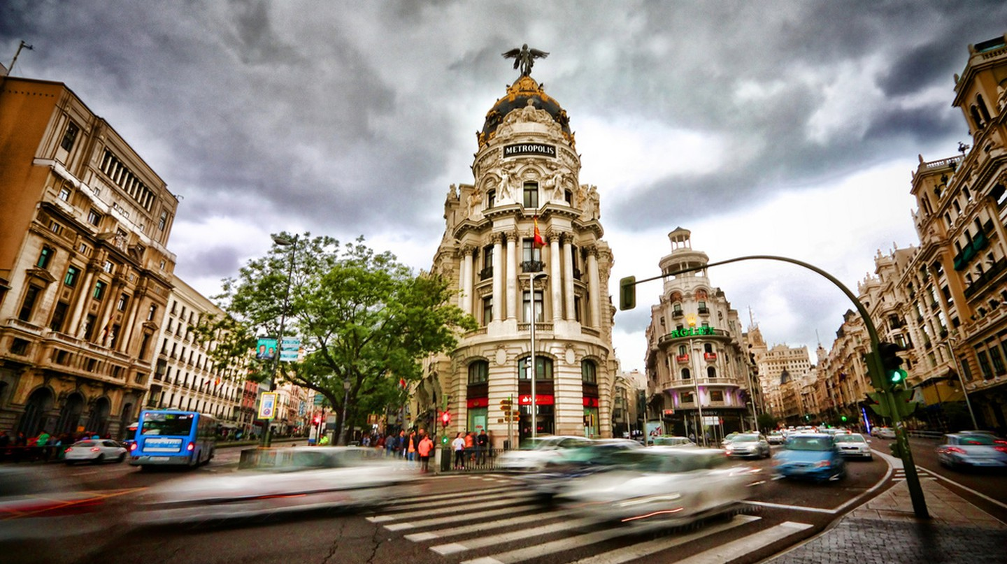 Gran Via, Madrid © Wenjie, Zhang / Flickr