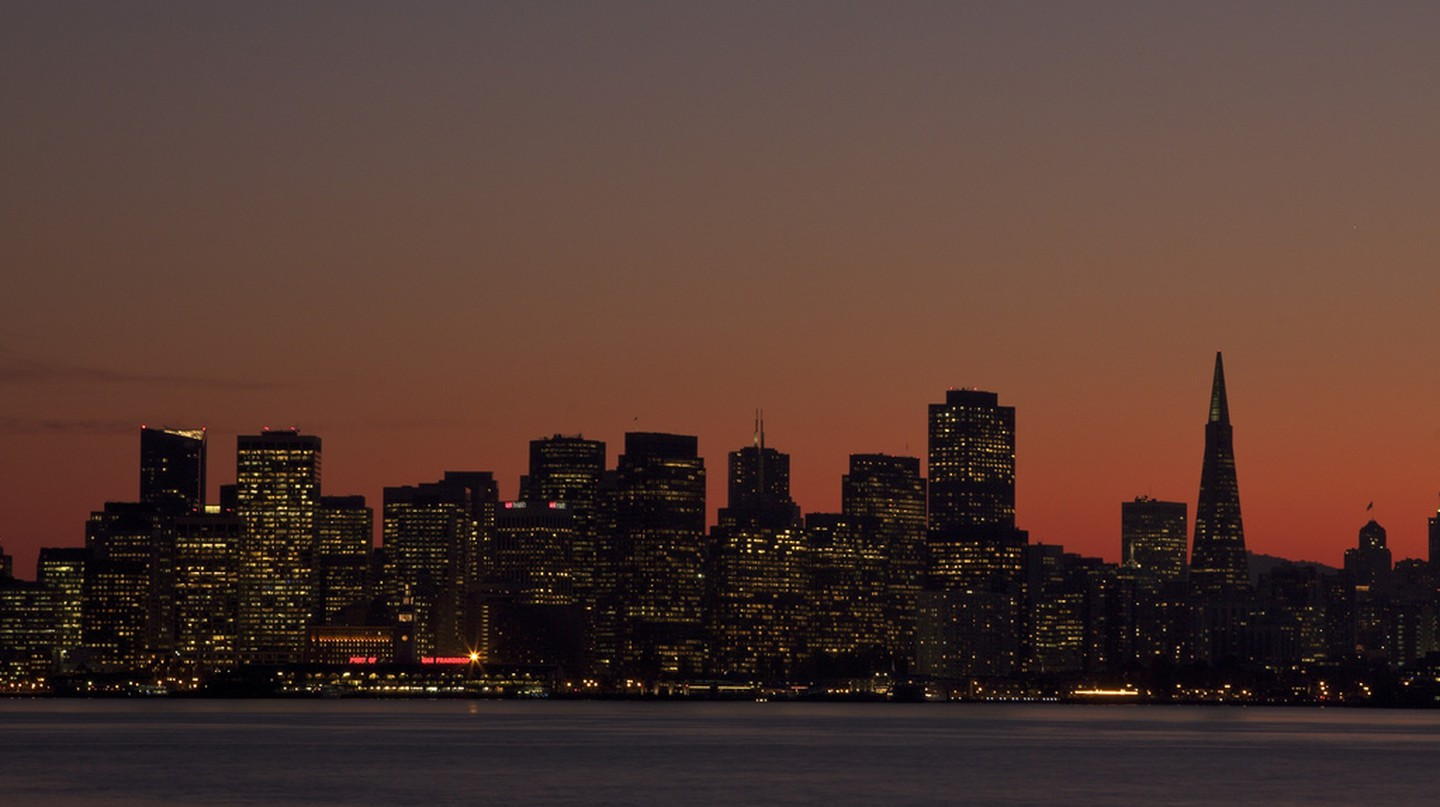 Sunset Over San Francisco| © David Spencer/Flickr