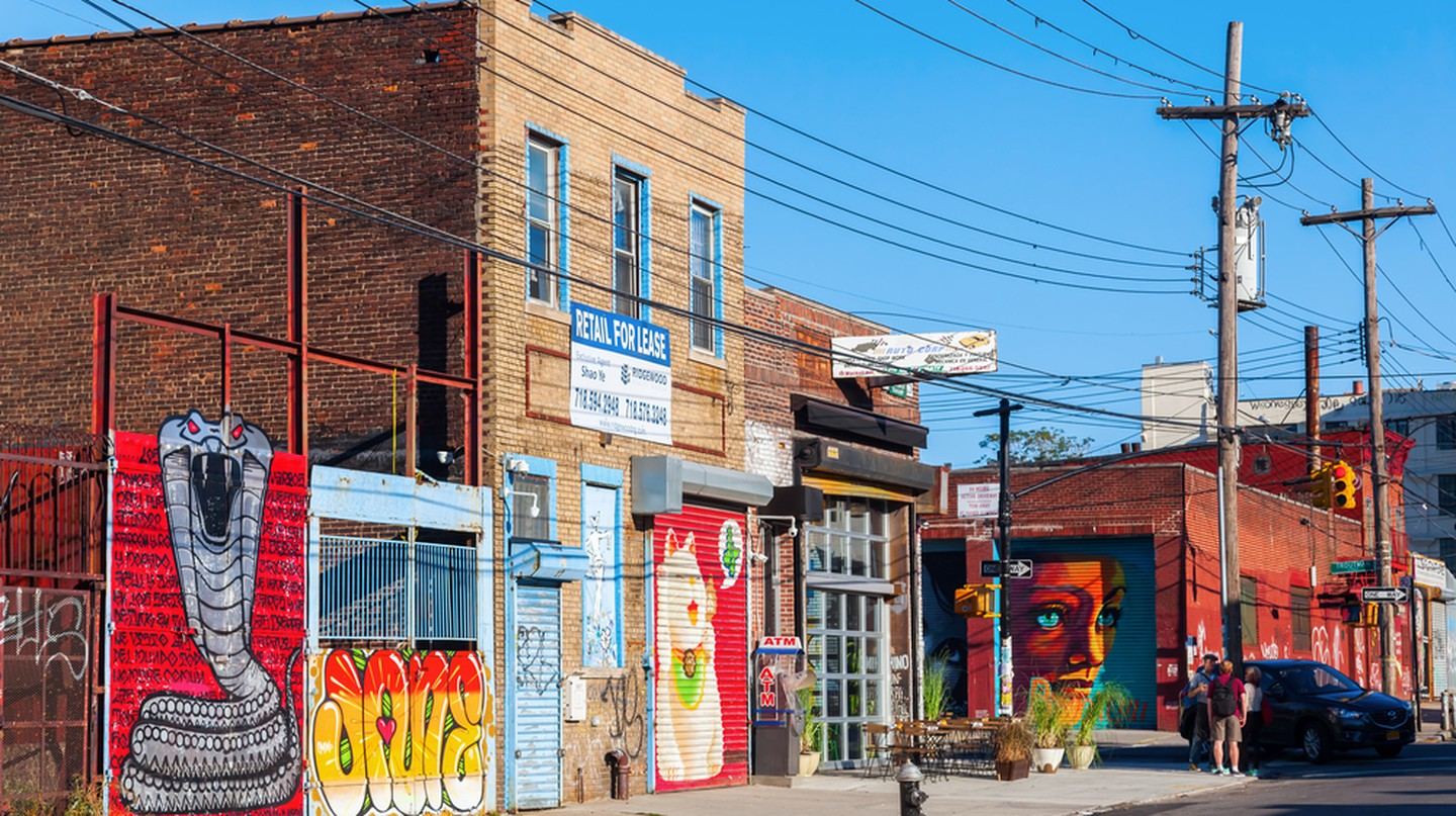 Mural art in Bushwick, Brooklyn | © Christian Mueller/Shutterstock