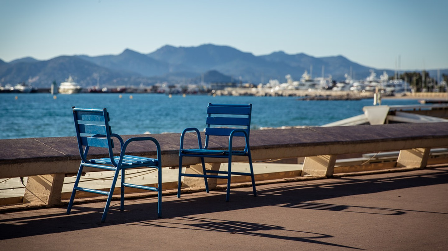 "The chairs of ""La Croisette"" 