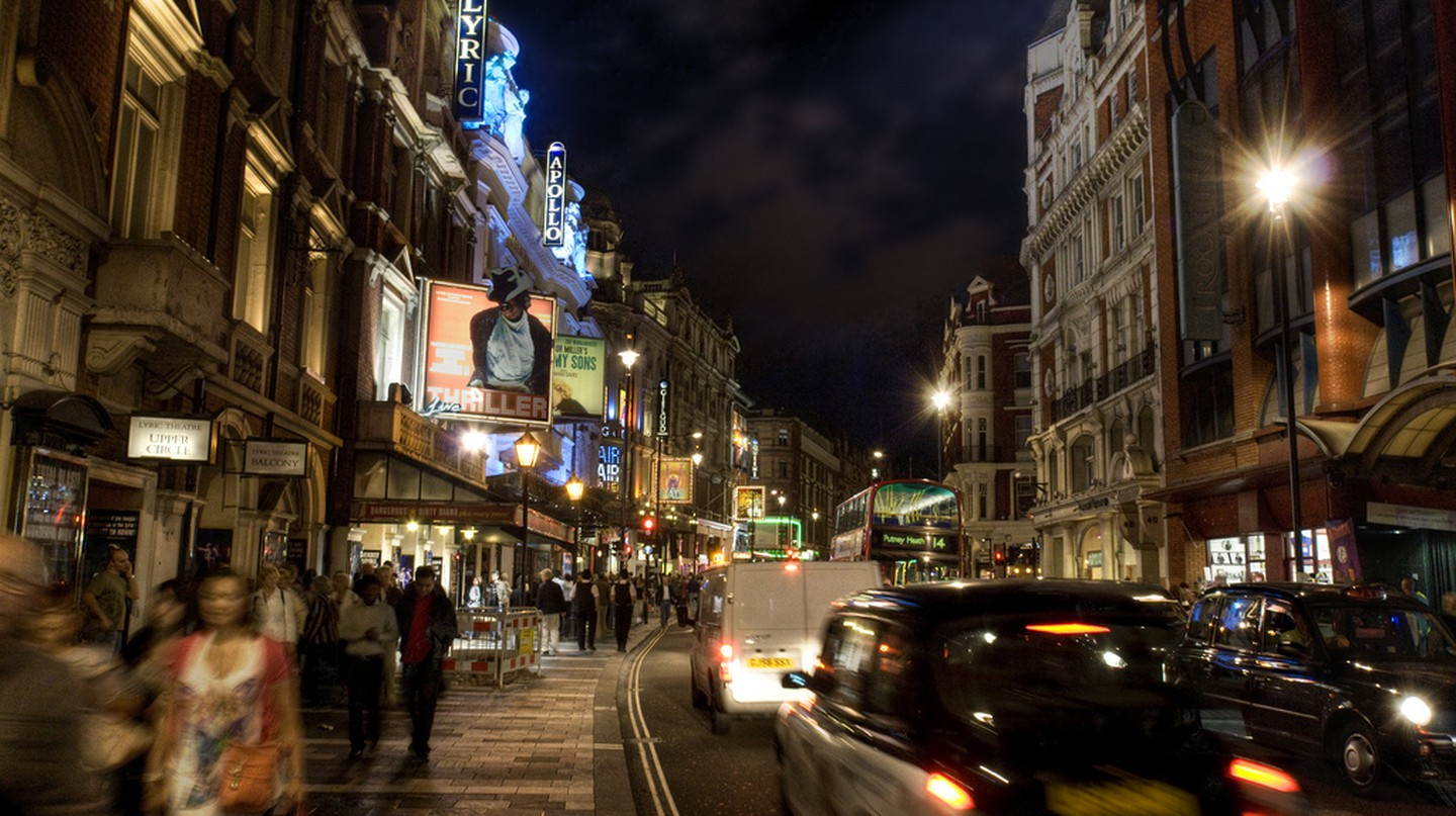 London's West End |© Andy Bird/Flickr