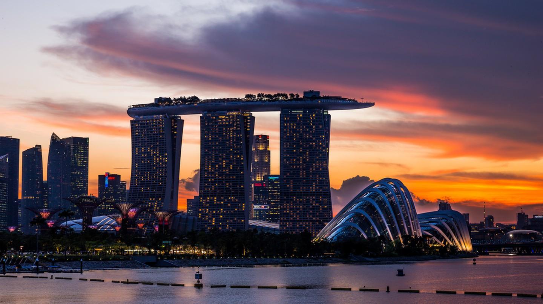 Sunset in Singapore © Mac Qin / Flick