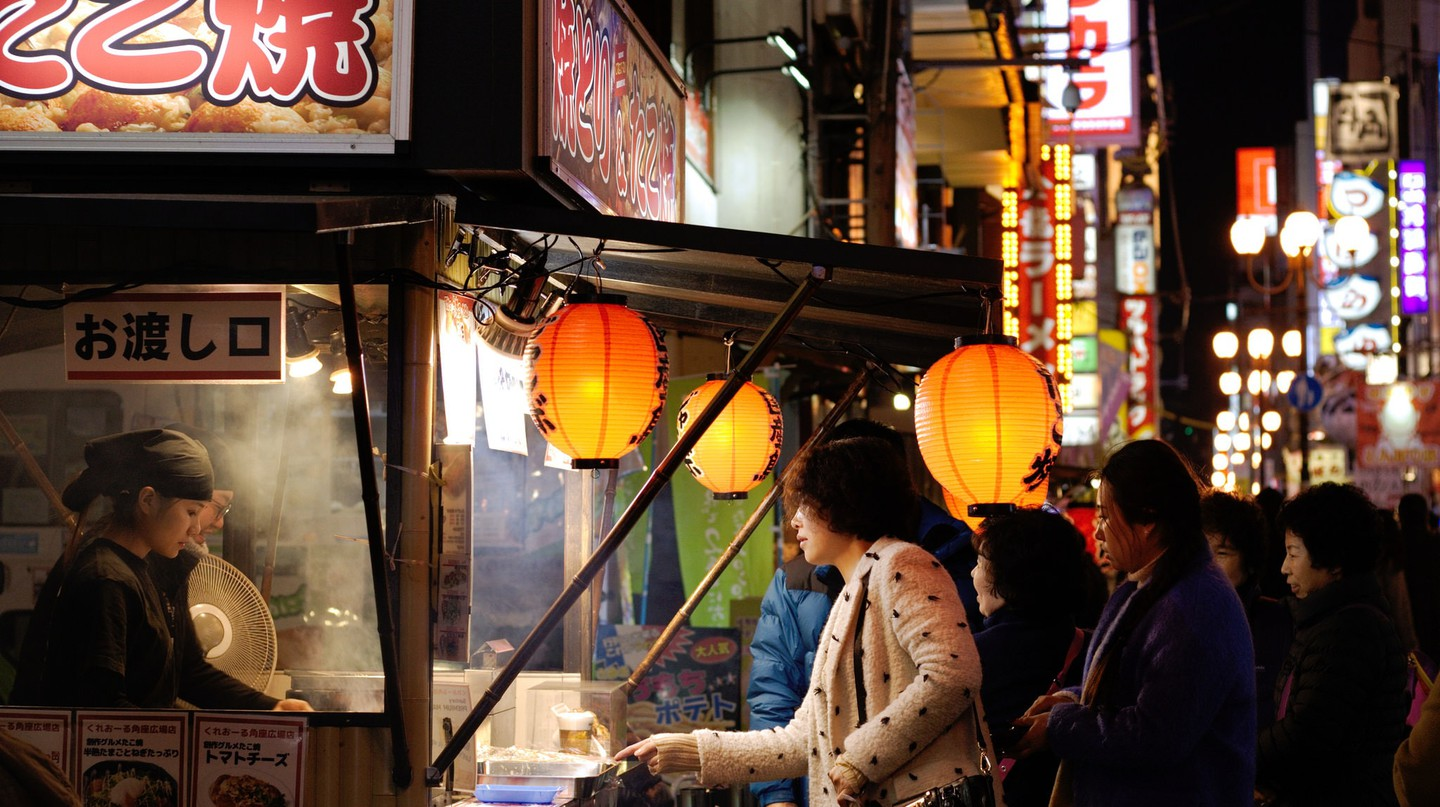 Osaka street food | © chopstuey/Flickr