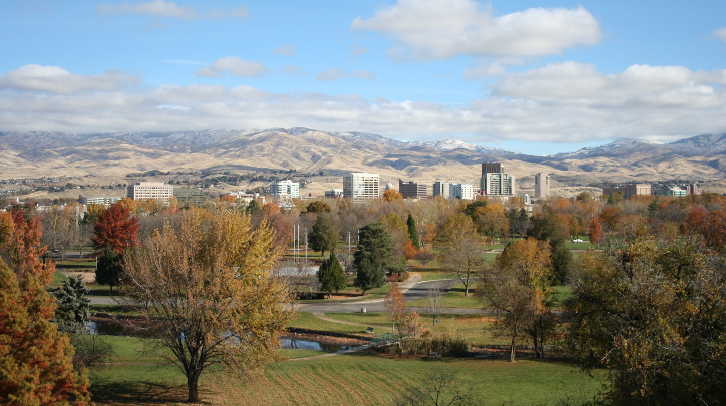 Overview of downtown Boise © Boise Metro Chamber of Commerce