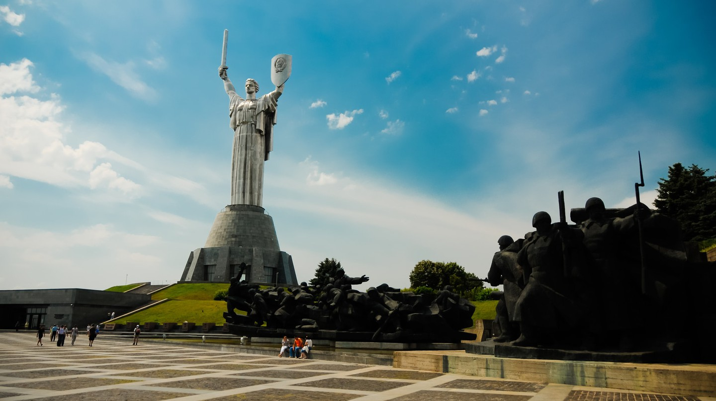 The Motherland monument |©Kamil Porembiński/Flickr