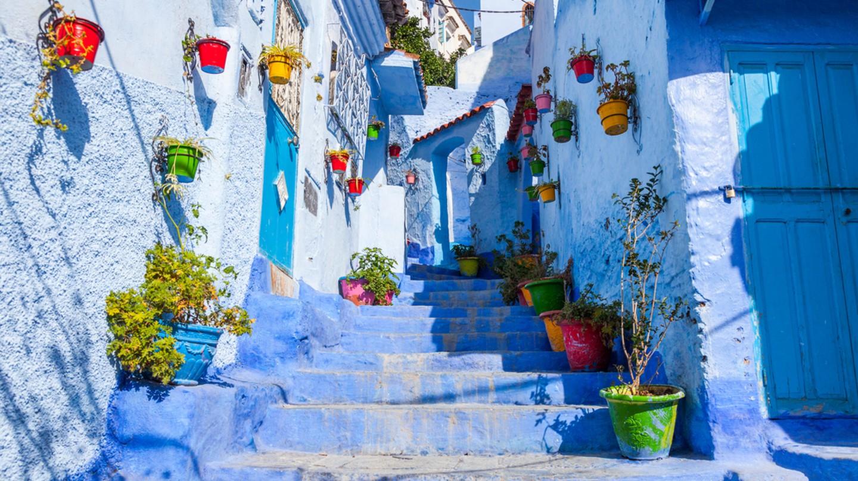 Chefchaouen, Morocco © Lewis Liu/Shutterstock