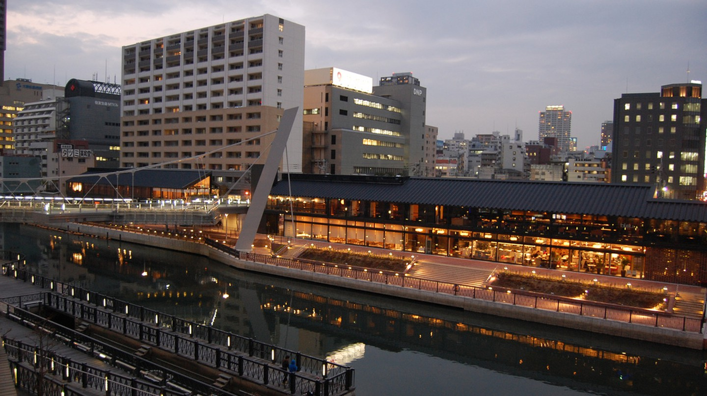 A view of Horie, Osaka