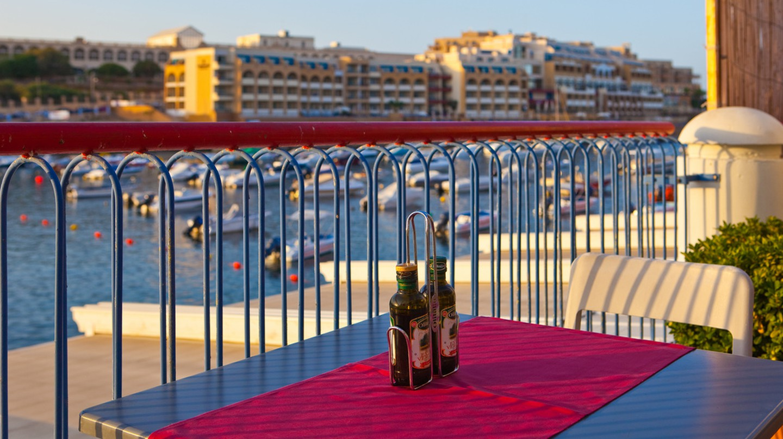 Restaurant View in Sliema, Malta   © Bengt Nyman/Flickr